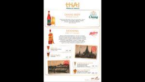 Menü Seite 16: Thai Premium Drinks